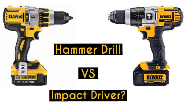 Hammer Drill vs Impact Driver: What is the Difference Between the Two?