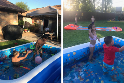 Outdoor Water Fun for Grandkids