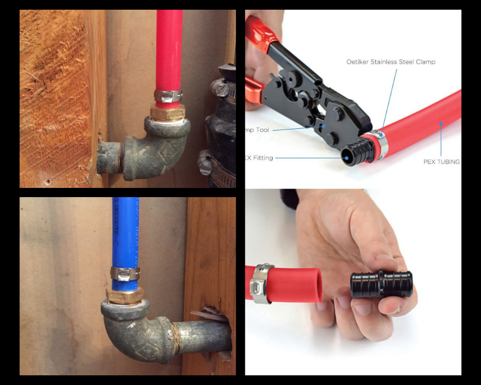 PEX Piping 101: PEX Crimp Tool and Cinch Clamps